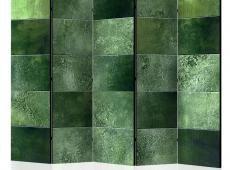 Paraván - Green Puzzle II [Room Dividers]